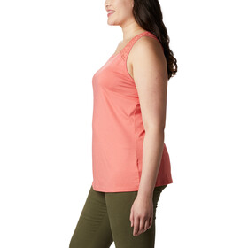 Columbia Peak To Point II Tanktop Dames, bright poppy heather